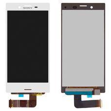 Дисплей Sony Xperia X Compact (mini) F5321 Белый (экран + тачскрин, стекло)