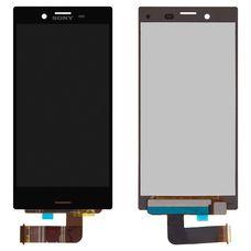 Дисплей Sony Xperia X Compact (mini) F5321 Черный (экран + тачскрин, стекло)