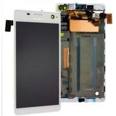 Дисплей Sony Xperia C4 E5303 E5333 Белый В РАМКЕ (экран+сенсор)