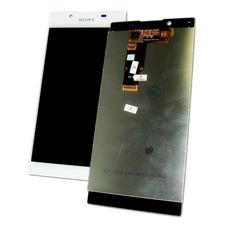 Дисплей Sony Xperia L1 G3311 G3312 БЕЛЫЙ (экран + тачскрин, стекло)