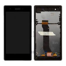 Дисплей Sony Xperia Z1S C6916 ЧЕРНЫЙ В РАМКЕ (модуль, с тачскрином)