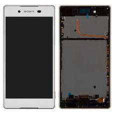 Дисплей Sony Xperia Z3+/Z4 В РАМКЕ БЕЛЫЙ E6533 E6533 (экран + тачскрин)