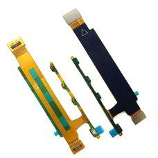 Шлейф Sony Xperia T3 D5102 D5103 D5106 M50W кнопка включения, громкости