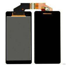 Дисплей для Sony Xperia V ЧЕРНЫЙ LT25i (модуль в сбореc тачскрином) ОРИГИНАЛ
