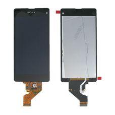 Дисплей Sony Xperia Z1 mini ЧЕРНЫЙ D5503 (Compact) c тачскрином (модуль в сборе)