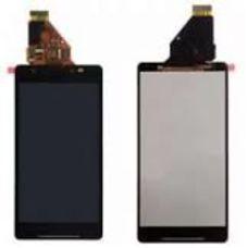 Дисплей Sony Xperia ZR ЧЕРНЫЙ C5502 C5503 ОРИГИНАЛ (модуль в сборе)