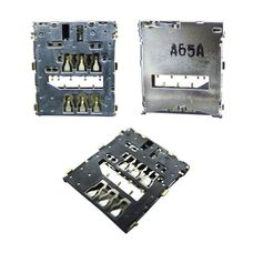 Коннектор SIM Sony Xperia Z C6602 / C6603 / C6606 (разъем, считыватель сим карты)
