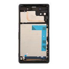 Корпус Sony Xperia Z3 Dual SIM L55T D6653 D6633 D6603 ЧЕРНЫЙ (средняя часть)