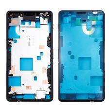 Корпус Sony Xperia Z3 mini (Compact) D5803 D5833 ЧЕРНЫЙ (средняя часть)