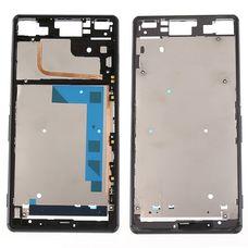 Корпус Sony Xperia Z3 D6603 D6643 D6653 ЧЕРНЫЙ (средняя часть)