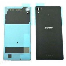 Задняя крышка Sony Xperia Z4 (Z3 Plus) ЧЕРНАЯ E6553 E6533 (стеклянная)