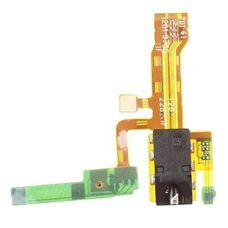 Шлейф Sony Xperia ZL C6503 L35h разъем гарнитуры (коннектор аудио джек) + микрофон