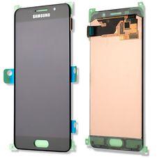 Дисплей Samsung Galaxy A3 SM-A300F Черный ОРИГИНАЛ (GH97-16747B)