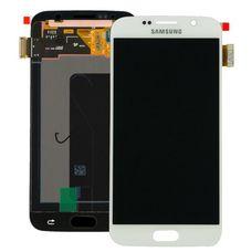 Дисплей Samsung Galaxy S6 SM-G920F Белый (модуль, в сборе) ОРИГИНАЛ