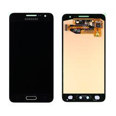 Дисплей Samsung Galaxy A3 SM-A310F/DS Черный ОРИГИНАЛ 2016 (GH97-18249B)