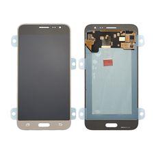Дисплей Samsung Galaxy J3 (2016) SM-J320F/DS Золото ОРИГИНАЛ (GH97-18414B)