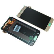 Дисплей Samsung Galaxy S6 SM-G920F ЗОЛОТОЙ (экран + сенсорное стекло)