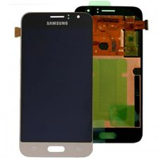 Дисплей Samsung Galaxy J1 J120F/DS Золото ОРИГИНАЛ 2016 (GH97-18224B)