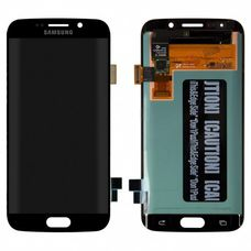 Дисплей Samsung Galaxy S6 Edge SM-G925F Черный (модуль, в сборе) ОРИГИНАЛ
