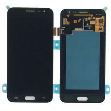 Дисплей Samsung Galaxy J3 SM-J320F/DS Черный ОРИГИНАЛ 2016 (GH97-18414C)