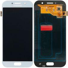 Дисплей Samsung Galaxy A5 SM-A520F Белый ОРИГИНАЛ (2017) (GH97-19733C)