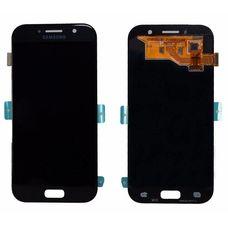 Дисплей Samsung Galaxy A5 SM-A520F Черный ОРИГИНАЛ (2017) (GH97-19733A)