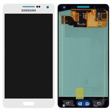 Дисплей Samsung Galaxy A5 SM-A500F Белый ОРИГИНАЛ (GH97-16679A)