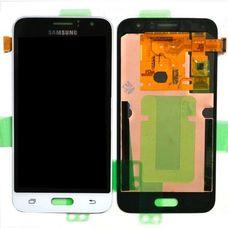 Дисплей Samsung Galaxy J1 J120F/DS Белый ОРИГИНАЛ 2016 (GH97-18224A)
