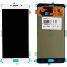 Дисплей Samsung Galaxy A7 SM-A710F/DS Белый ОРИГИНАЛ (GH97-18229C)