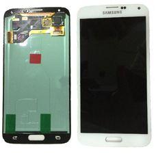 Дисплей Samsung GALAXY S5 SM-G900F Белый ОРИГИНАЛ (GH97-15959A)