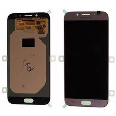 Дисплей Samsung Galaxy J7 SM-J730 Золото ОРИГИНАЛ (2017) (GH97-20736С)