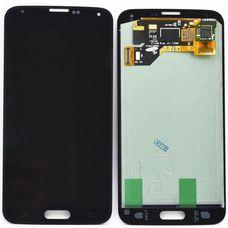 Дисплей Samsung Galaxy S5 G900 Черный (экран + тачскрин, стекло)