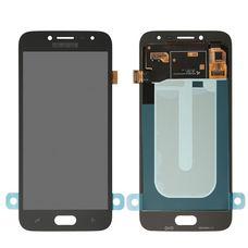 Дисплей Samsung Galaxy J2 SM-J250F Черный ОРИГИНАЛ 2018 (GH97-21339A)