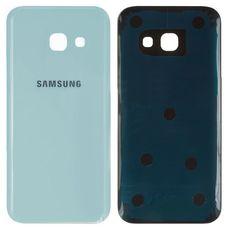Задняя крышка Samsung Galaxy A3 A320F (2017) БЕЛАЯ/ГОЛУБАЯ
