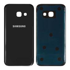 Задняя крышка Samsung Galaxy A3 A320F (2017) ЧЕРНАЯ