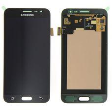 Дисплей Samsung Galaxy J3 J320 Черный OLED ORIGINAL