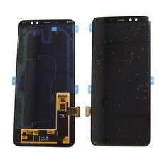 Дисплей Samsung Galaxy A8+ plus  (2018) SM-A730F Черный ОРИГИНАЛ (GH97-21534A)