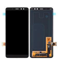Дисплей Samsung Galaxy A8 (2018) SM-A530F Черный ОРИГИНАЛ (GH97-21406A)