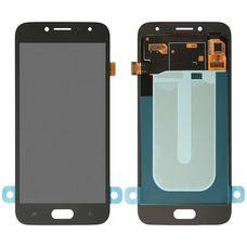 Дисплей Samsung Galaxy J2 J250 Черный OLED ORIGINAL (экран + тачскрин, стекло)