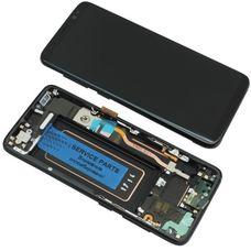 Дисплей Samsung Galaxy S8 SM-G950F Черный ОРИГИНАЛ (GH97-20457A)
