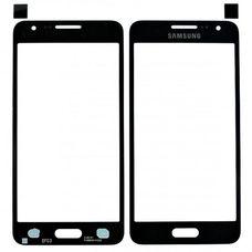 Стекло Samsung Galaxy A3 SM-A300F черное (black)