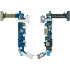 Шлейф разъем зарядки Samsung Galaxy S6 G920F аудио вход+сенсорные кнопки+микрофон