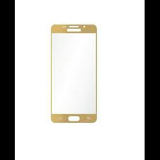 Стекло Samsung Galaxy A5 SM-A510F золотое (gold)