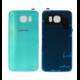 Задняя крышка Samsung Galaxy S6 G920F G920FD ЗЕЛЕНАЯ (стеклянная)