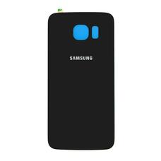 Задняя крышка Samsung Galaxy S6 G920F G920FD ЧЕРНАЯ (стеклянная)