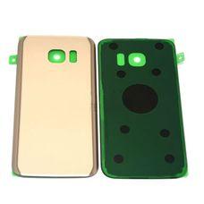 Задняя крышка Samsung Galaxy S7 G930 G930F ЗОЛОТАЯ (стеклянная)