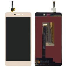 Дисплей Xiaomi REDMI 3 / 3S / 3 Pro Золотой (экран + тачскрин, стекло)