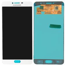 Дисплей Samsung Galaxy C7 C7000 OLED Белый (экран + тачскрин, стекло) 2016г.