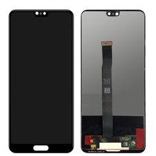 Дисплей Huawei P20 EML-L29 Черный (экран + тачскрин, стекло)