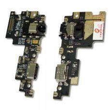 Разъем зарядки Xiaomi Mi 5X / Mi A1 плата + микрофон, аудио разъём (джек)